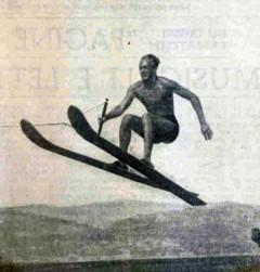 André Brandicourt - Compétiteur de 1935 à 1942 en ski alpin et ski nautique