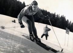 Danièle Telinge - Vainqueur de l'Arlberg Kandahar en 1957 à Chamonix