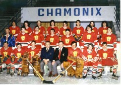 Equipe de Hockey - Champion de France 1979