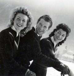 Suzanne, Henri et Georgette THIOLIERE : Deux soeurs et un frère, trois membres d'une même famille sélectionnés aux Jeux Olympiques ! Une histoire peu fréquente…