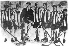 Le Chamonix hockey Club remporte son 1er titre en 1923
