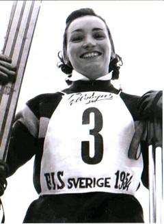 Lucienne Schmith Couttet - Championne du monde de Géant à Are en 1954