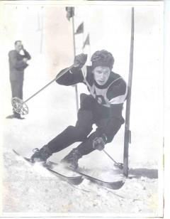 Bernard Perret - Slalomeur de l'équipe de France hors pair