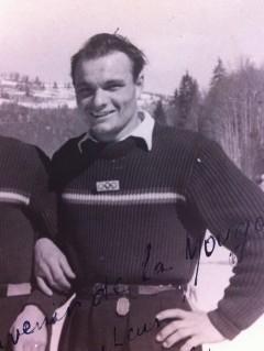 Arsène Luchini - préparation des JO de St Moritz en 1948