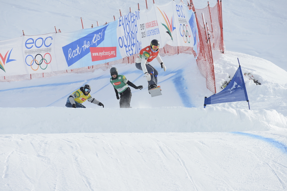 Snowboard - Courses FIS et Coupe d'Europe