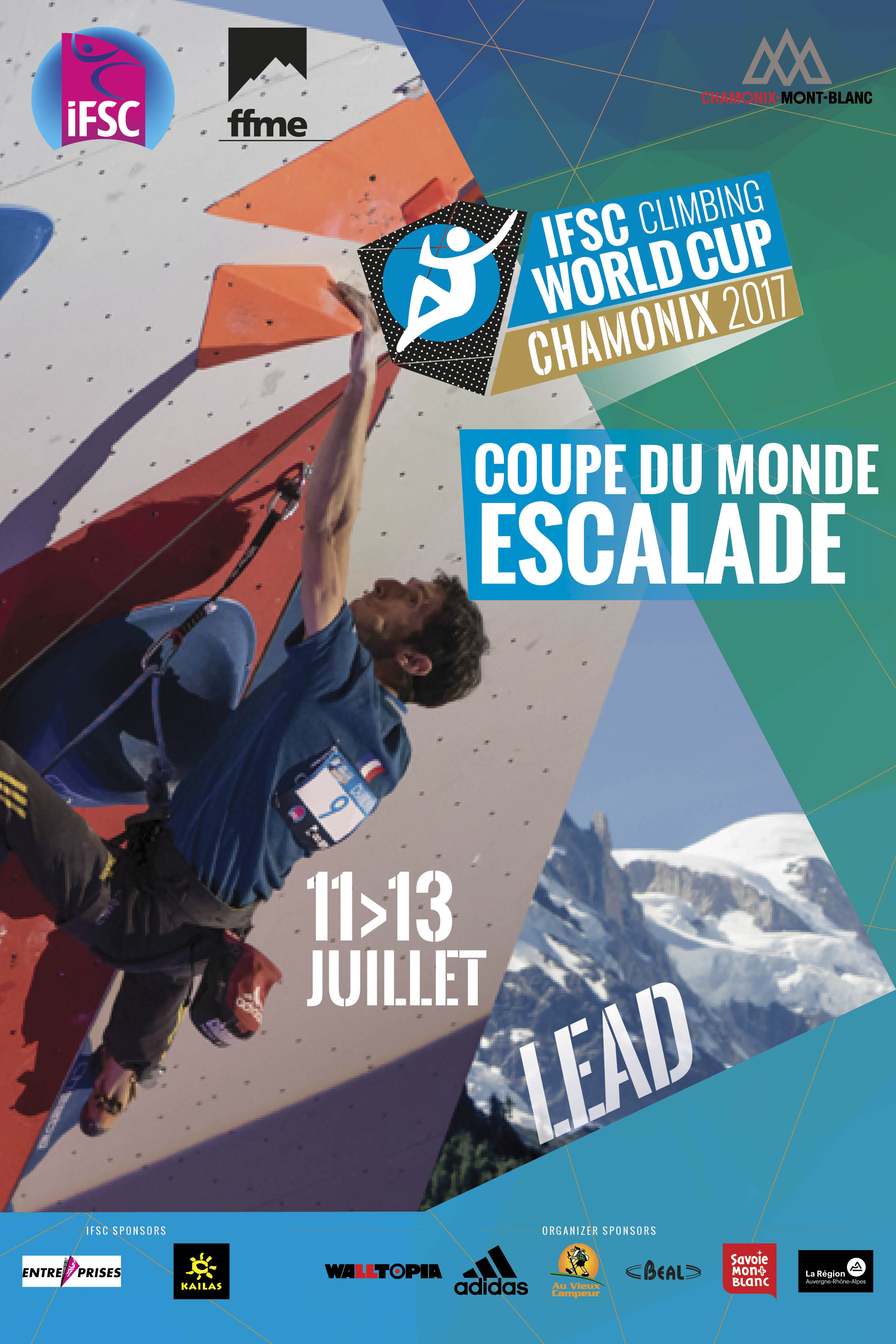 2017 World Cup Climbing program