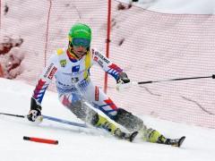 Coupe d'Europe Ski Alpin - Slalom Hommes 2018 Chamonix