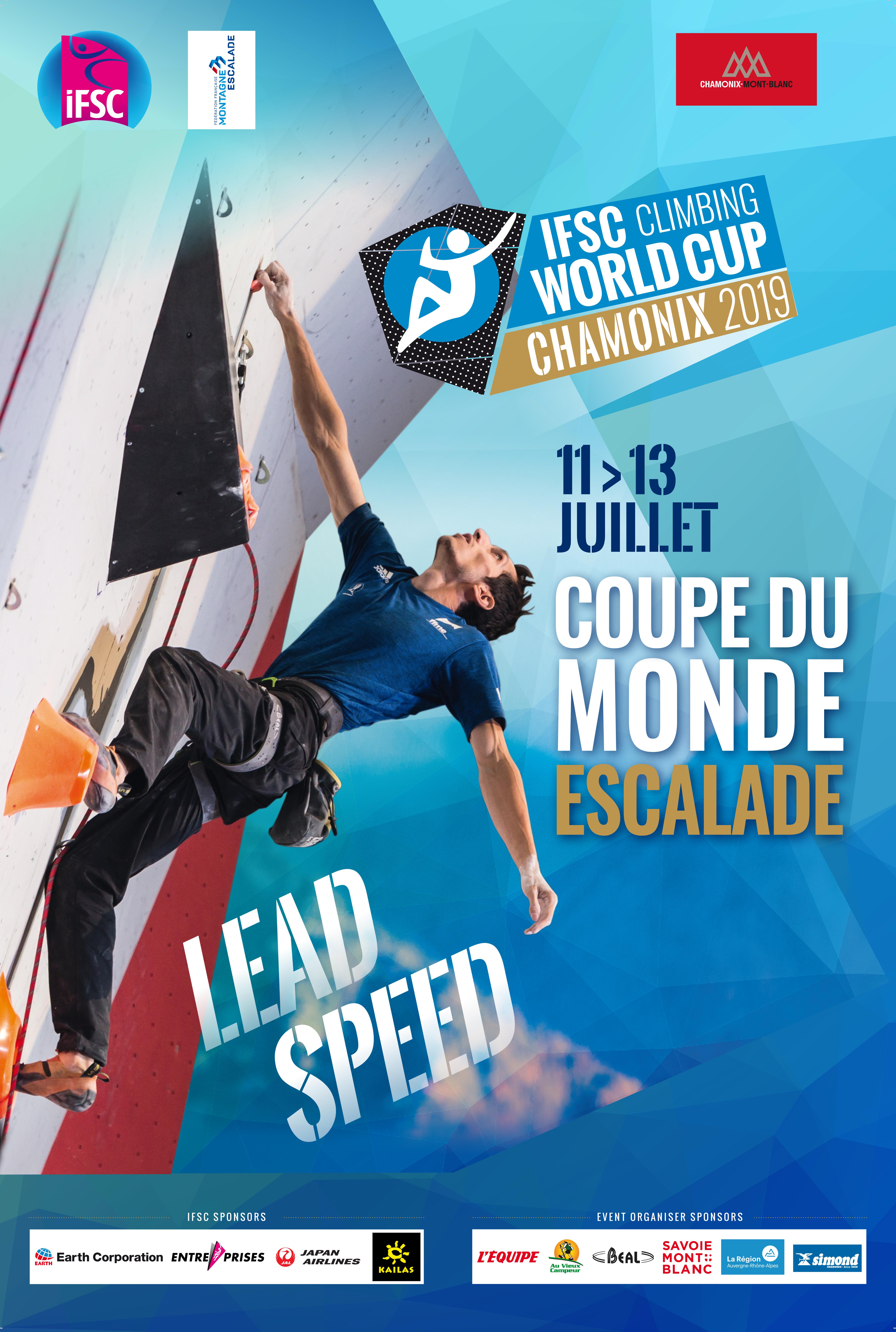 Coupe du Monde d'Escalade » Agenda » Club des Sports