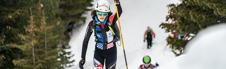 Margot Ravinel - Equipe de France de Ski Alpinisme